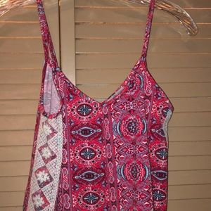 Charlotte Russe, size S, spaghetti strap crop top